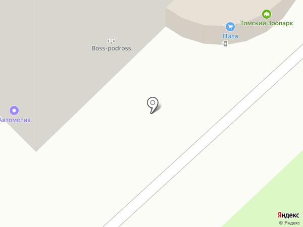 Крепеж-Т на карте Томска