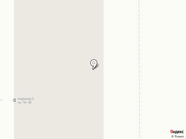 Аквамарин на карте Томска