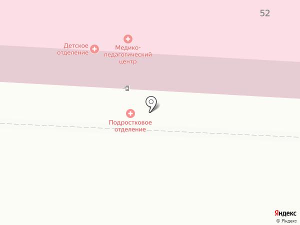 Томская клиническая психиатрическая больница на карте Томска