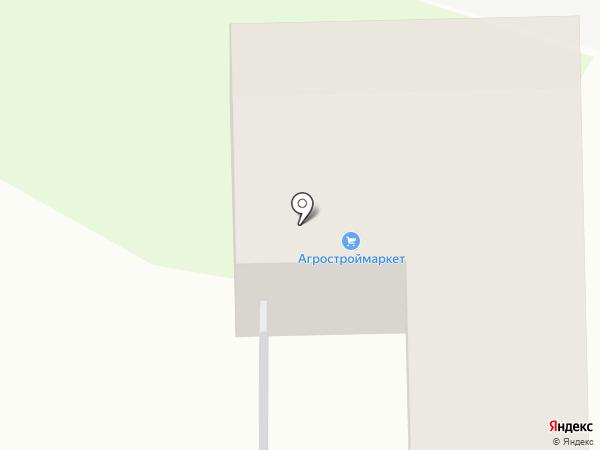 Агростроймаркет на карте Томска