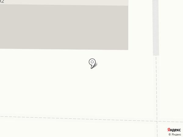 Сибирская на карте Томска