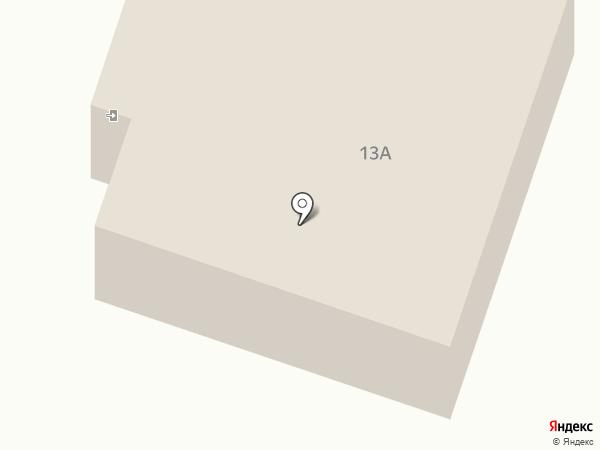 Теплоком на карте Томска