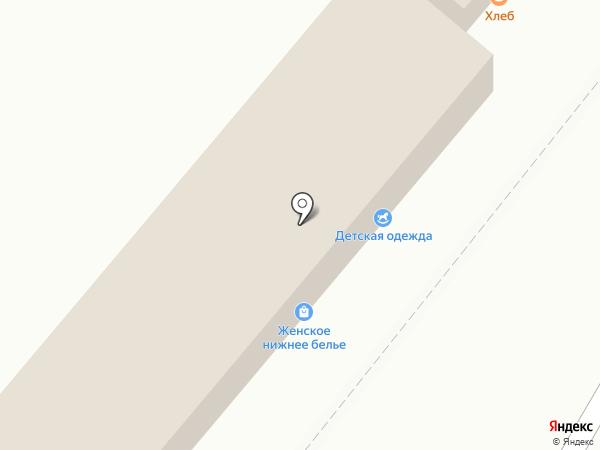 Киоск по продаже хлебобулочных изделий на карте Томска