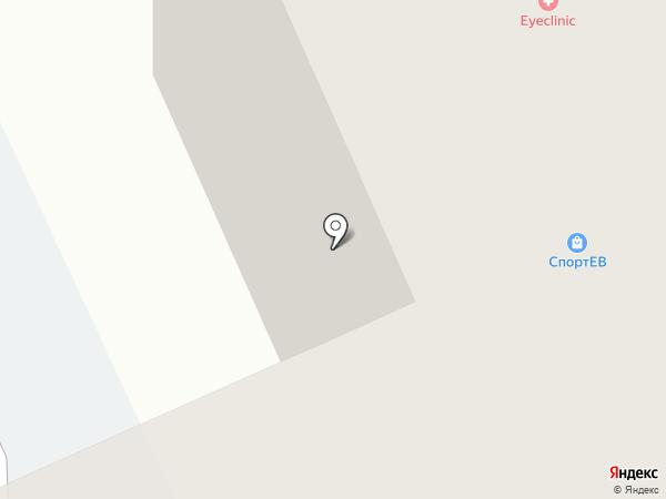 Айфикс на карте Томска