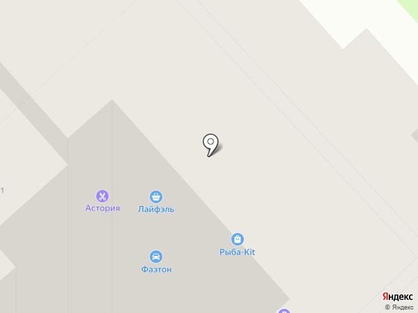 Секонд хенд & Сток на карте Томска