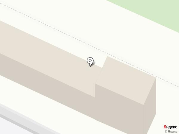 Луч на карте Зональной станции