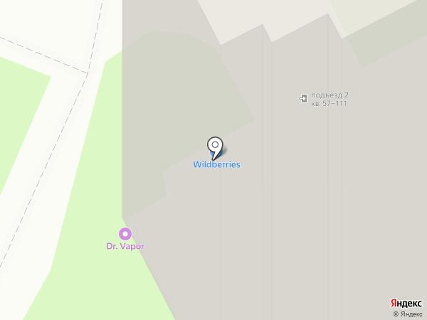 2 шага на карте Томска