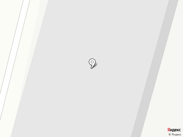 Магистраль авто на карте Томска