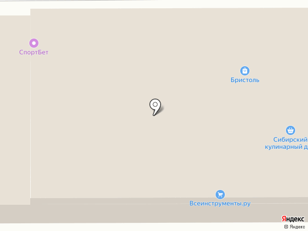 Second hand на карте Томска