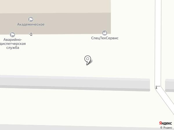 Кабинет частной юридической помощи Виктора Павлова на карте Томска