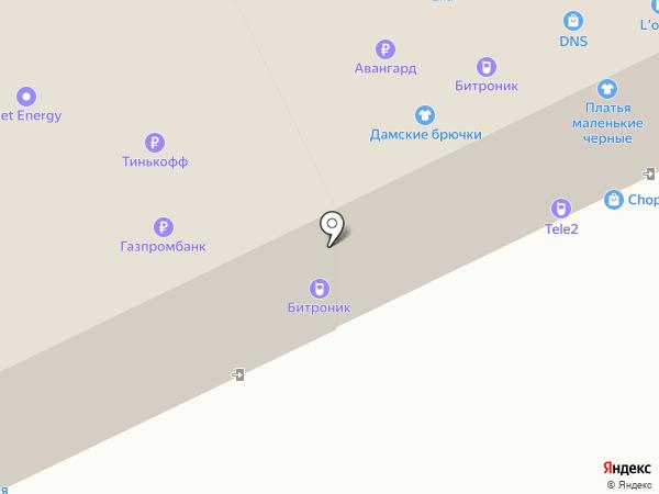 Лебёдушка на карте Томска
