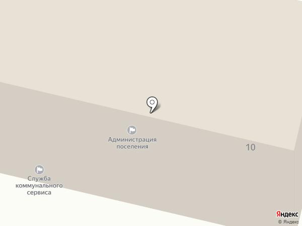 Администрация Зональненского сельского поселения на карте Зональной станции