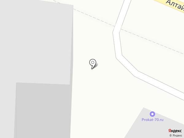Автостекло70 на карте Томска