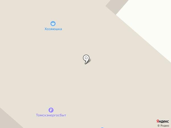 Быстроном на карте Зональной станции