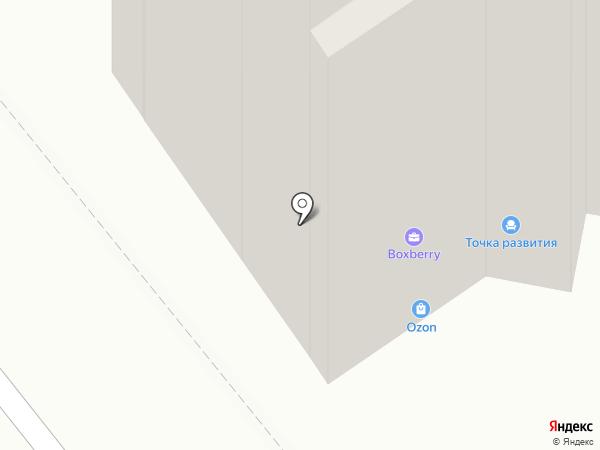 Синегорье на карте Томска