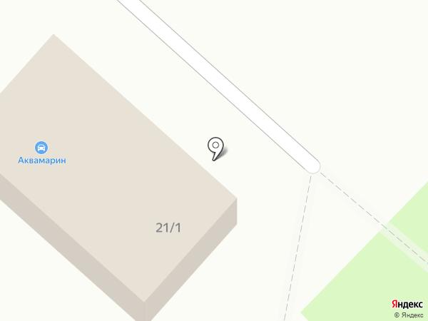 Аквамарин-Зональный на карте Зональной станции