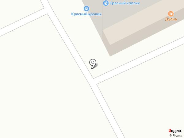 Петбург на карте Томска