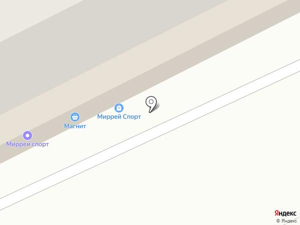 Магнит на карте Томска