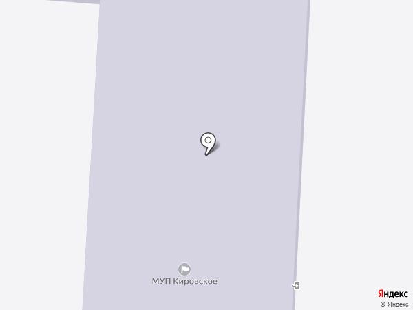 Кировская средняя общеобразовательная школа, МБОУ на карте Кировского