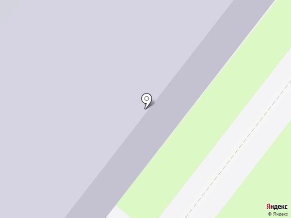 Зональненская средняя общеобразовательная школа на карте Зональной станции
