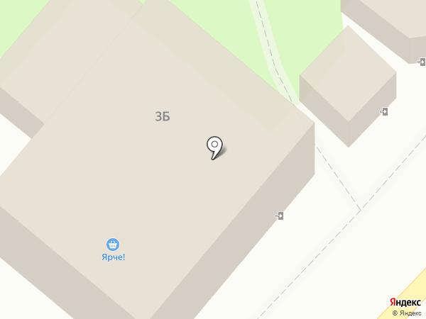 Ярче! на карте Зональной станции