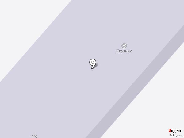 Спутник на карте Мирного