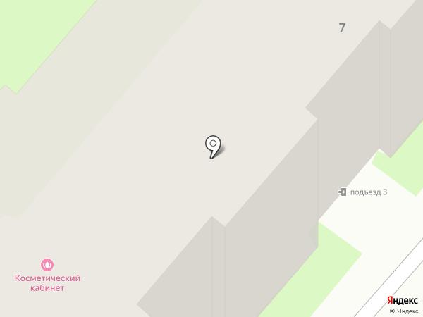 Новэль на карте Зональной станции