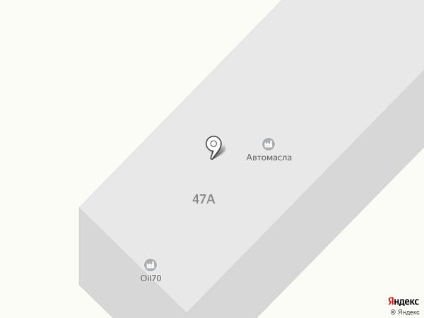 ОЙЛ70 на карте Томска