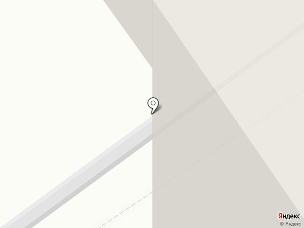 Эспера на карте Томска