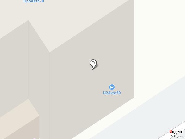 Служба городских кладбищ, МКУ на карте Томска