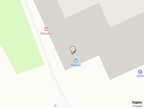 Квартал на карте Томска