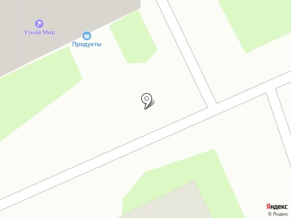 Мандарин на карте Томска