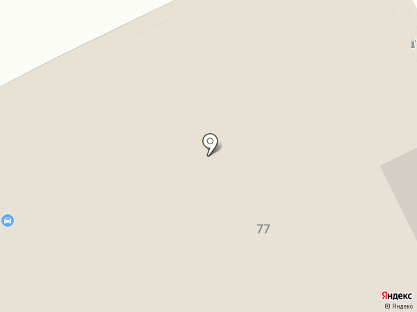 Авто Босс на карте Томска