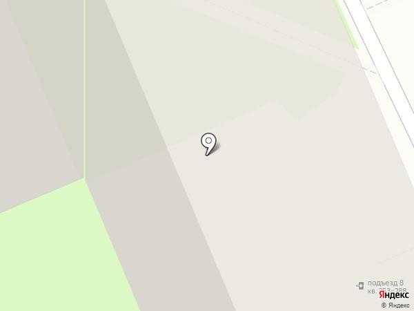 Поворот на карте Томска