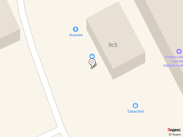 Билайн на карте Томска