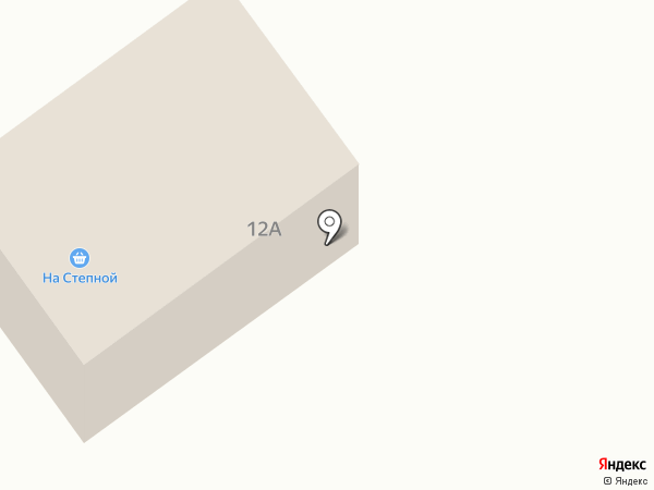 На Степной на карте Томска