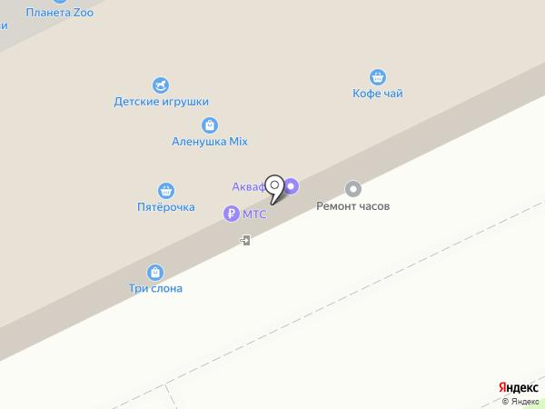 АБС-Бьюти на карте Томска