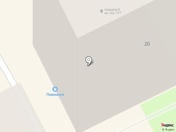 Пивмания на карте Томска