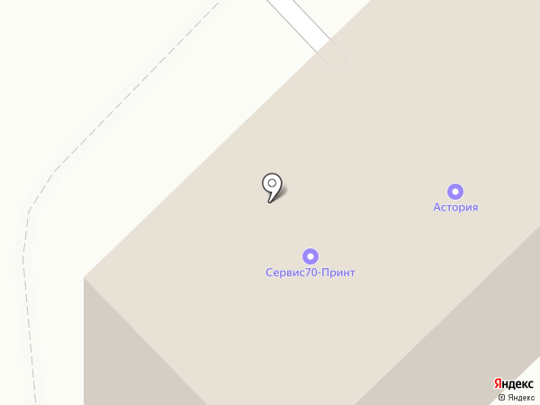 ТЕХАЗ на карте Томска