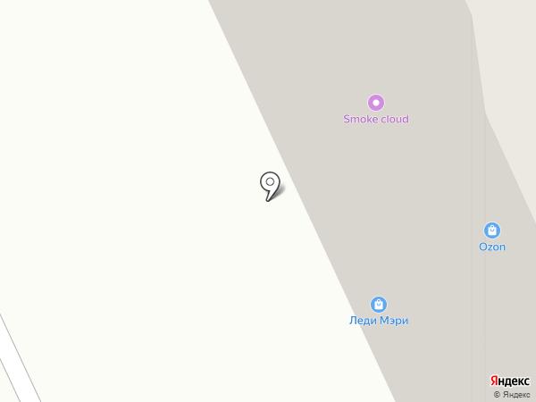 Тортуга на карте Томска