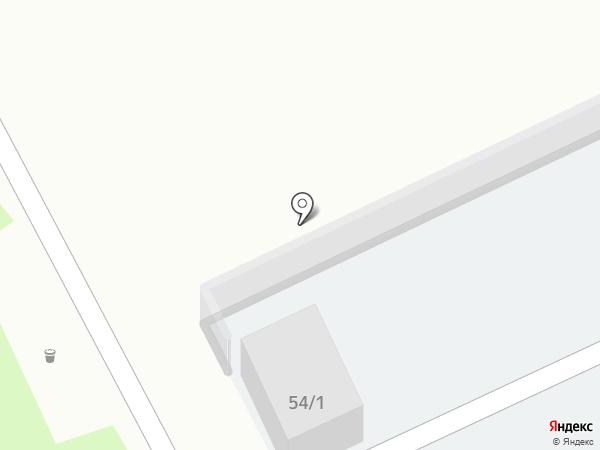 Автостоянка на карте Томска