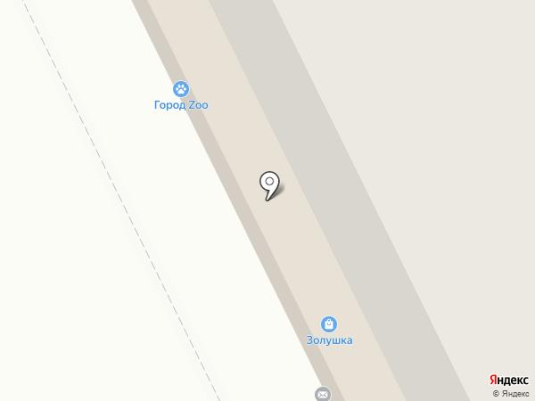 Охапка на карте Томска