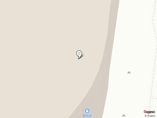 Меридиан на карте Томска
