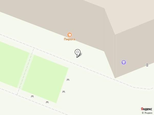 Pizza LET на карте Томска