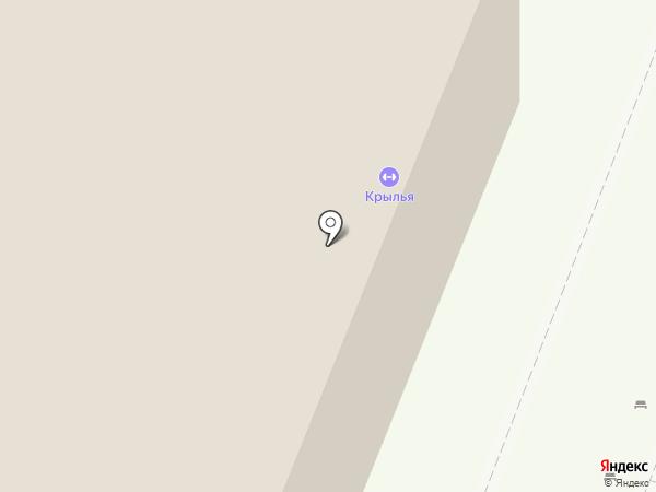 Звёздочка на карте Томска