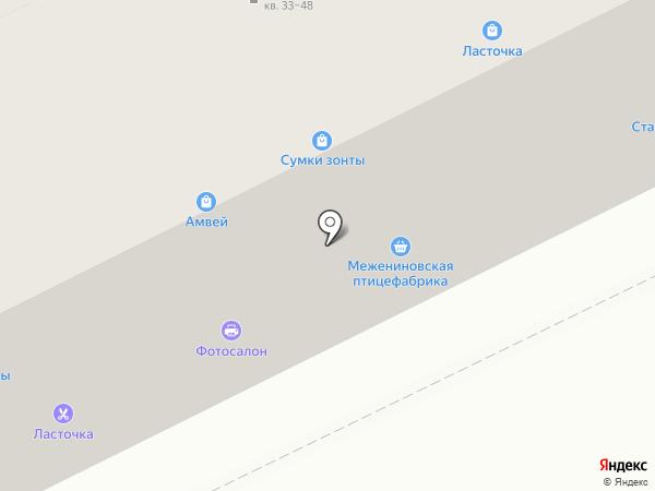 Магазин хозяйственных товаров на карте Томска