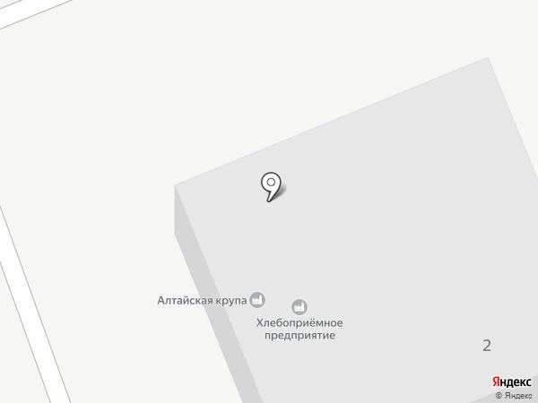 Усть-Катунское хлебоприемное предприятие на карте Усть-Катуни