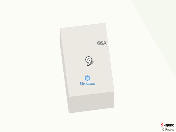 Михаэль на карте Смоленского