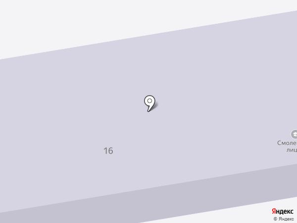 Профессиональное училище №82 на карте Смоленского