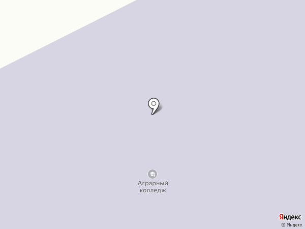 Томский аграрный колледж на карте Томска